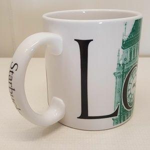 Starbucks LONDON City Coffee Mug Cup 20 oz Big Ben